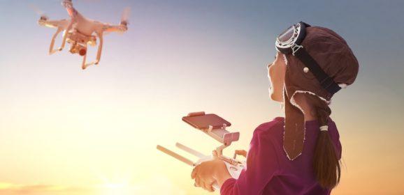 Drones nemen een vlucht